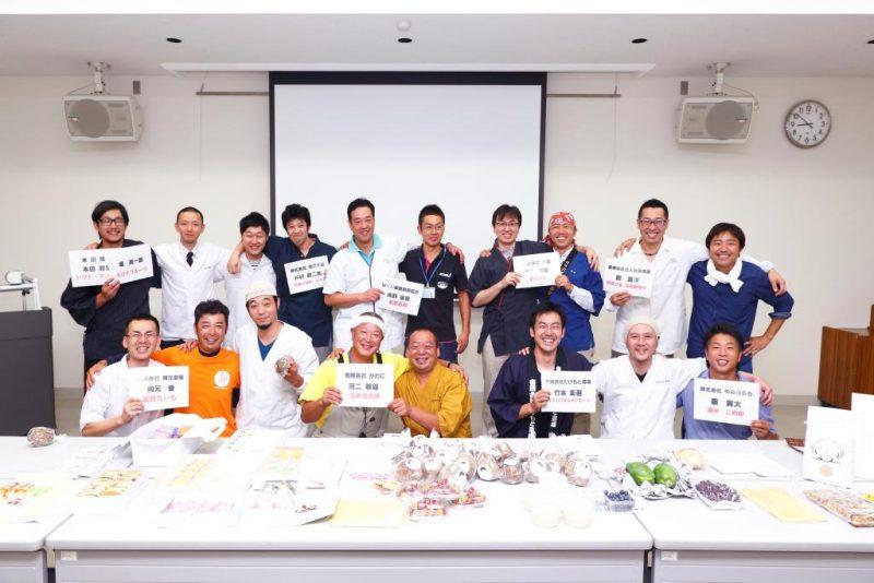 【農菓PJ】創作和菓子コンテストにむけて、マッチングがされました。