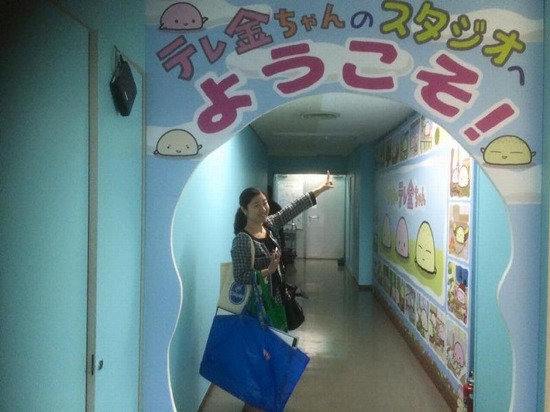 テレビ金沢へ (2)