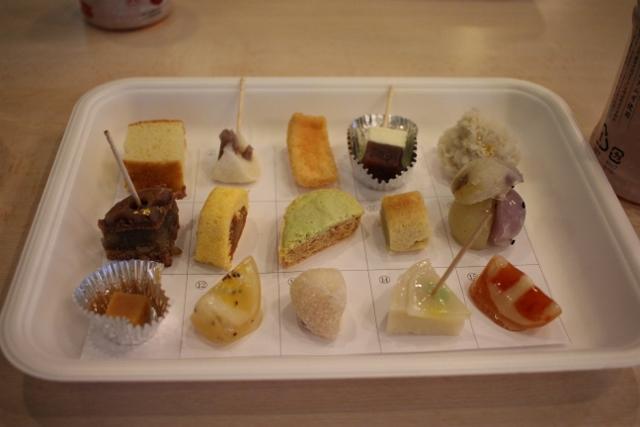 農菓PJによる創作和菓子コンテスト
