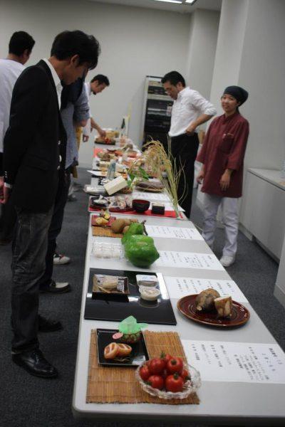 農菓PJ 試食会コンテストin石川県庁