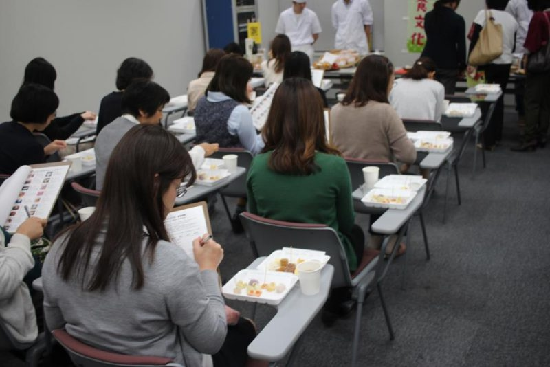 農菓PJ 試食会コンテスト